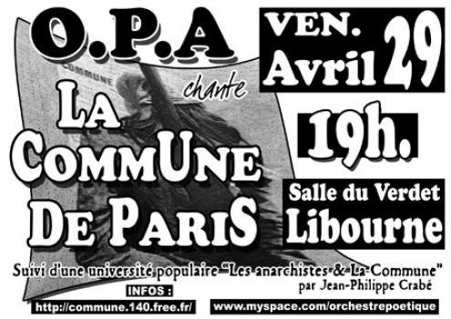 OP.A chante La Commune de Paris
